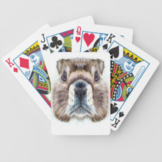 2nd February - Marmot Day - Appreciation Day Bicycle Playing Cards