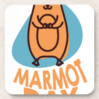 2nd February - Marmot Day - Appreciation Day Coaster