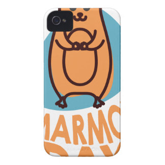 2nd February - Marmot Day - Appreciation Day iPhone 4 Case-Mate Cases