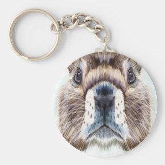 2nd February - Marmot Day - Appreciation Day Keychain