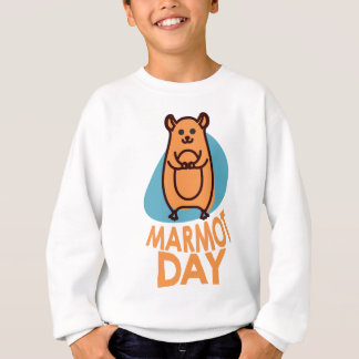 2nd February - Marmot Day - Appreciation Day Sweatshirt