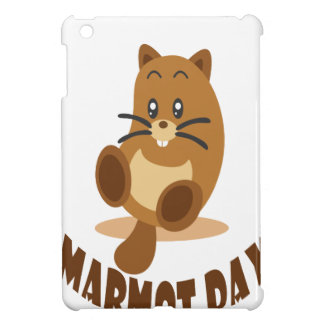 2nd February - Marmot Day iPad Mini Case