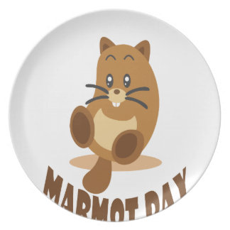 2nd February - Marmot Day Plates