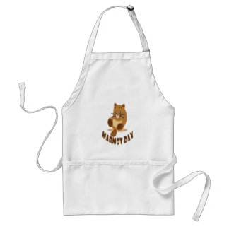 2nd February - Marmot Day Standard Apron