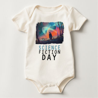 2nd February - Science Fiction Day Baby Bodysuit