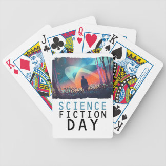 2nd February - Science Fiction Day Bicycle Playing Cards