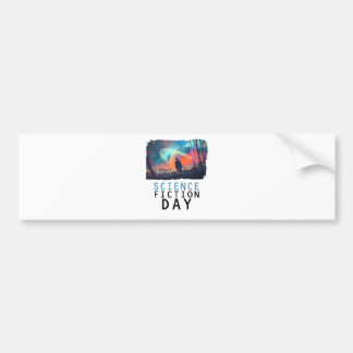 2nd February - Science Fiction Day Bumper Sticker