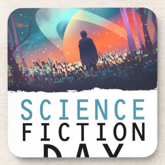 2nd February - Science Fiction Day Coaster