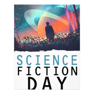 2nd February - Science Fiction Day Letterhead