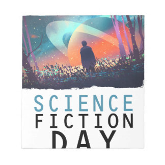2nd February - Science Fiction Day Notepad