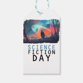 2nd February - Science Fiction Day Pack Of Gift Tags