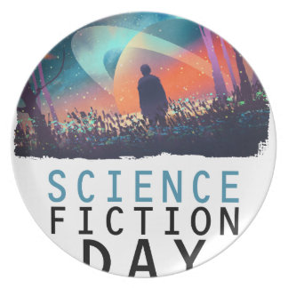 2nd February - Science Fiction Day Party Plates