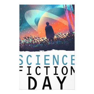 2nd February - Science Fiction Day Stationery