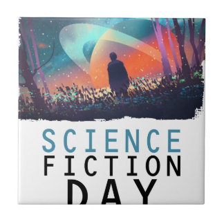 2nd February - Science Fiction Day Tile