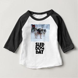 2nd February - Sled Dog Day Baby T-Shirt