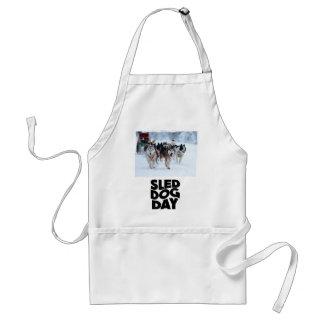 2nd February - Sled Dog Day Standard Apron