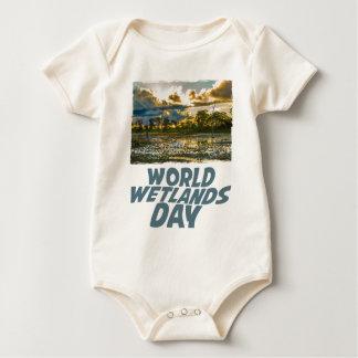 2nd February - World Wetlands Day Baby Bodysuit