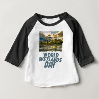 2nd February - World Wetlands Day Baby T-Shirt