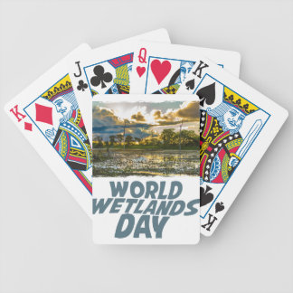 2nd February - World Wetlands Day Bicycle Playing Cards