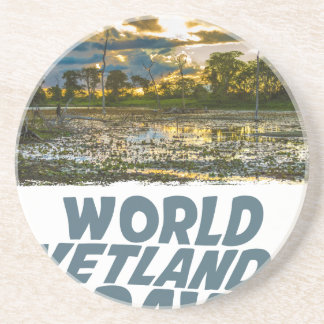 2nd February - World Wetlands Day Coaster