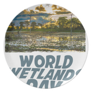 2nd February - World Wetlands Day Party Plate