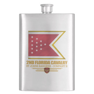 2nd Florida Cavalry Flask