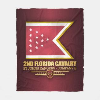 2nd Florida Cavalry Fleece Blanket