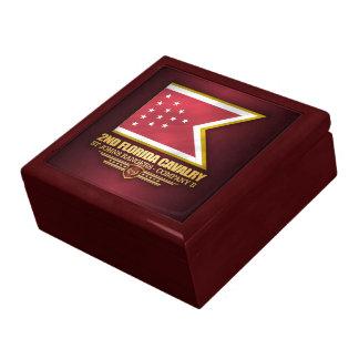 2nd Florida Cavalry Keepsake Box