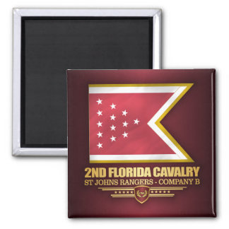2nd Florida Cavalry Magnet