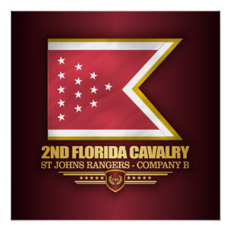 2nd Florida Cavalry Poster