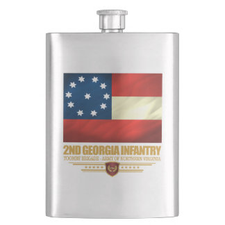 2nd Georgia Infantry Hip Flask