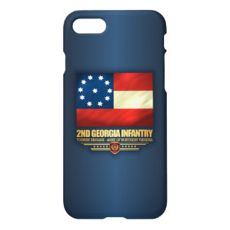 2nd Georgia Infantry iPhone 8/7 Case