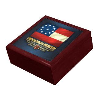 2nd Georgia Infantry Trinket Boxes