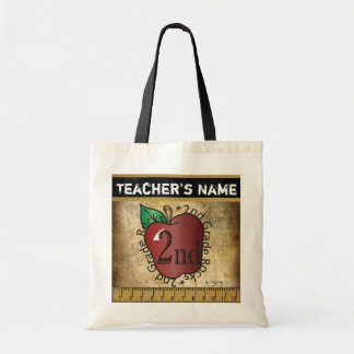 2nd Grade Rocks Vintage Styled | Teacher's Bag