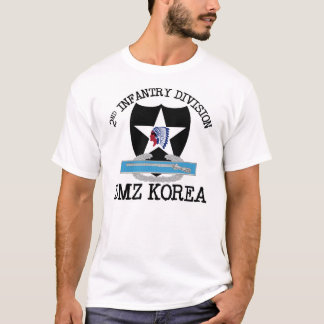 2nd ID Korea DMZ Vet with CIB T-Shirt