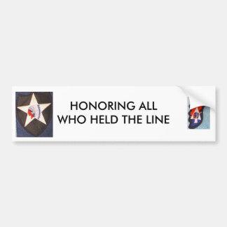 2nd Inf Div  Imjin Scout Bumper Sticker