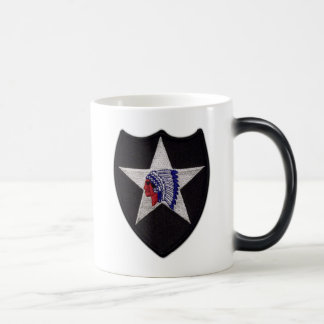 2nd Inf infantry division veterans iraq vets patch Magic Mug