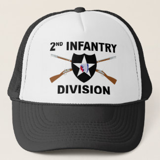 2nd Infantry Division - Crossed Rifles Trucker Hat