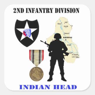 2nd Infantry Division Iraq War Vet Stickers