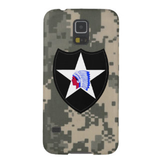"2nd Infantry Division ""Second to None"" Cases For Galaxy S5"