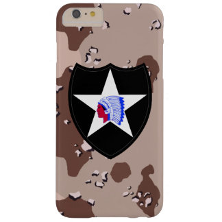 "2nd Infantry Division ""Second to None"" Desert Camo Barely There iPhone 6 Plus Case"