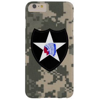 "2nd Infantry Division""Second to None"" Digital Camo Barely There iPhone 6 Plus Case"
