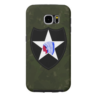 "2nd Infantry Division ""Second to None"" Samsung Galaxy S6 Cases"