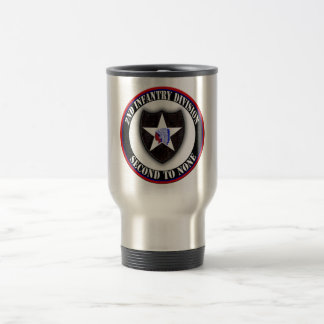 2nd Infantry Division Travel Mug