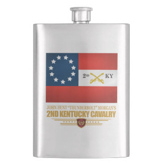 2nd Kentucky Cavalry CSA Hip Flask