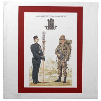 2nd King Edward VII's own Gurkha Rifles Napkins