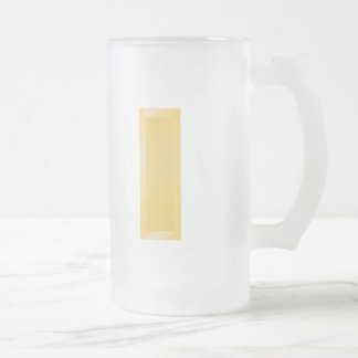 2nd Lieutenant 16 Oz Frosted Glass Beer Mug