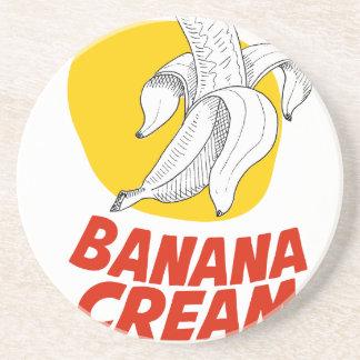 2nd March - Banana Cream Pie Day Coaster
