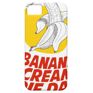2nd March - Banana Cream Pie Day iPhone 5 Case