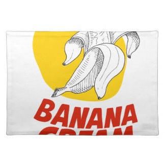 2nd March - Banana Cream Pie Day Placemat